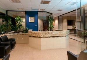 NEW! Lobby of Santa Cruz Executive Suites